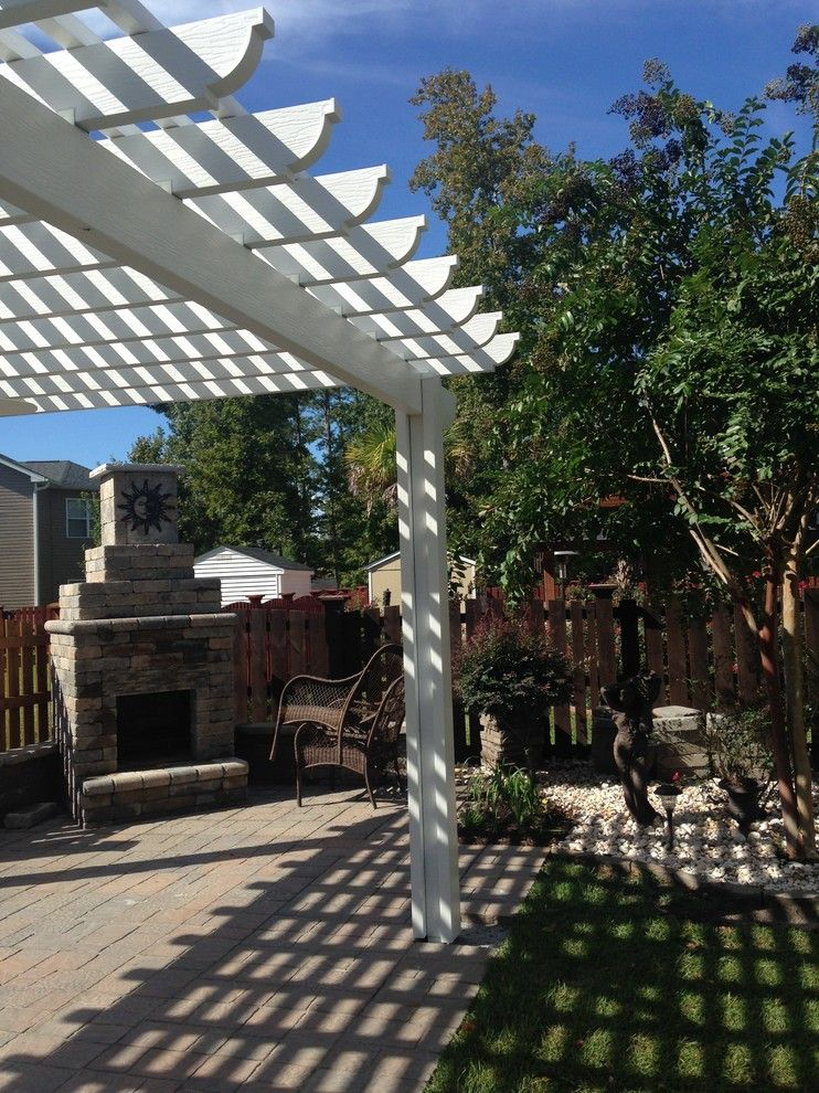 Lowes Columbia Sc for a Eclectic Spaces with a Central Sc Outdoor Living Designer and Builder and Low Maintenance Pergola in Blythewood, Sc. by Archadeck of Central South Carolina