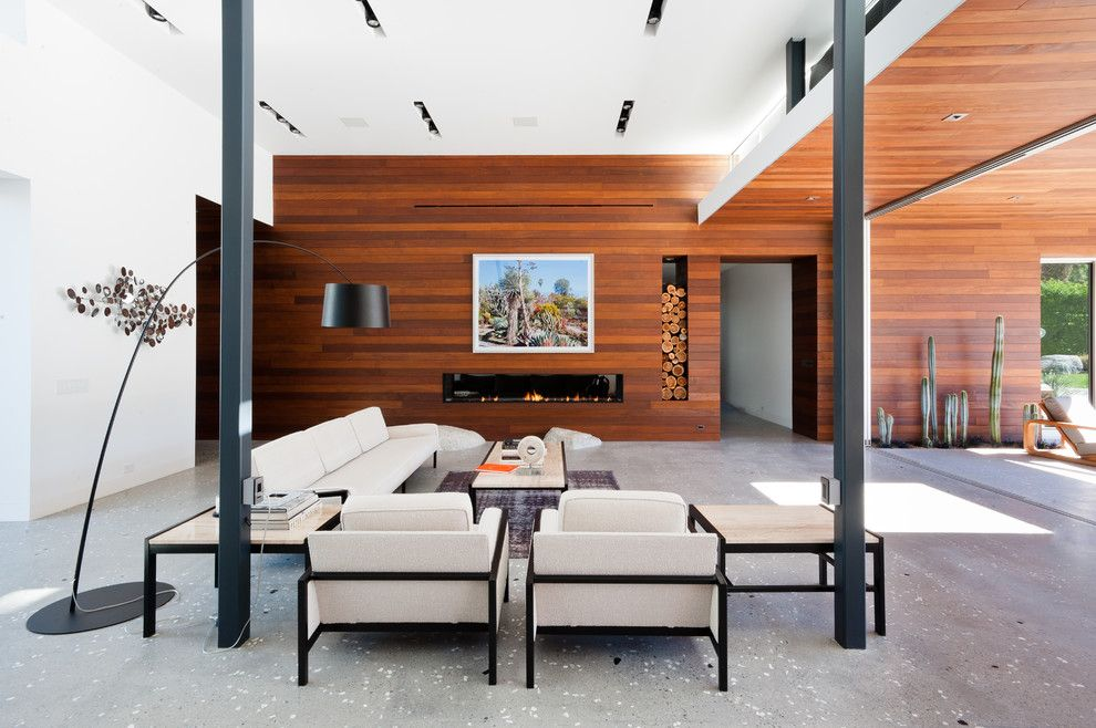 Lowes Conway Ar for a Modern Living Room with a White Couch and F 5 Residence by Studio Ar+D Architects
