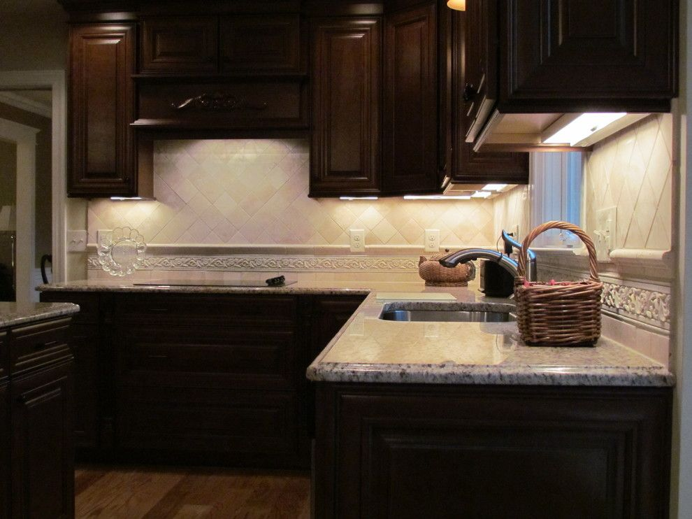 Lowes Conway Sc for a  Kitchen with a Undercabinet Lighting and Shenandoah Mckinley Cherry   Head by Lowes of Indian Land, Sc