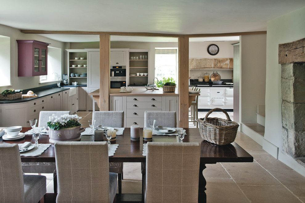 Lowes Crossville Tn for a Farmhouse Dining Room with a Country Kitchen and Dorset Manor House by Sims Hilditch