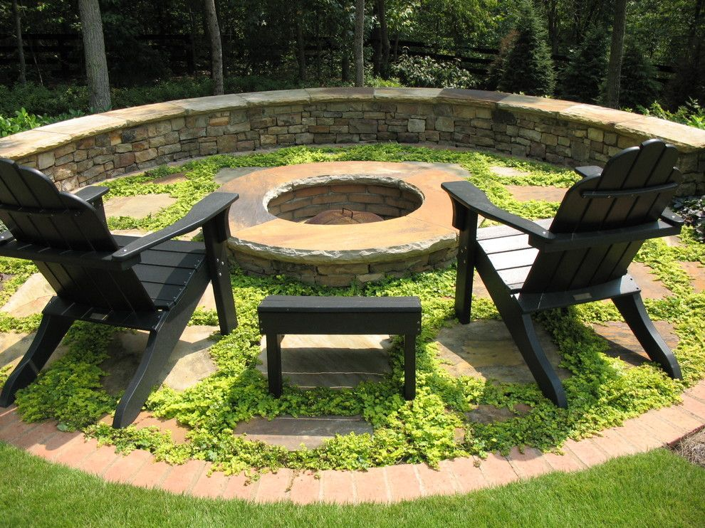 Lowes Cumming Ga for a Traditional Landscape with a Fire Pit and Residential Landscaping by Botanica Atlanta | Landscape Design-Build-Maintain