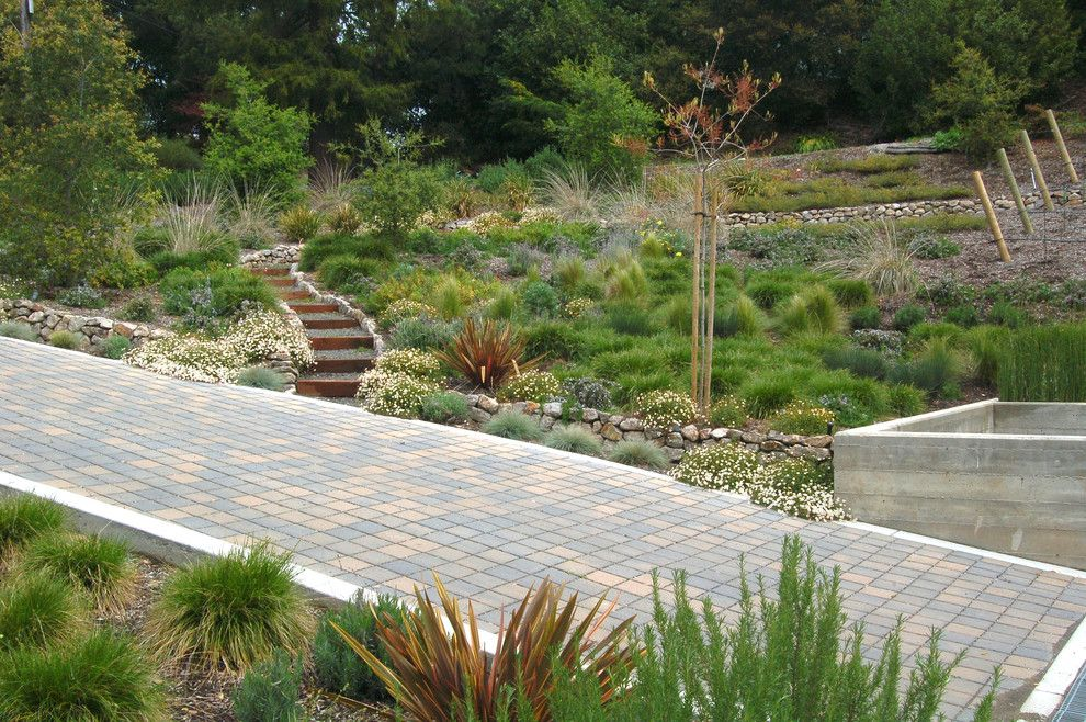 Lowes Decatur Tx for a Contemporary Landscape with a Low Water and Remick by Huettl Landscape Architecture
