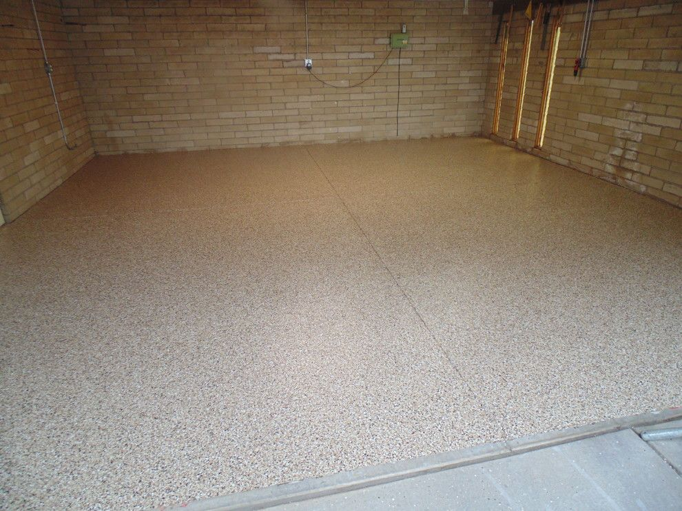 lowes fort collins for a contemporary garage with a epoxy garage