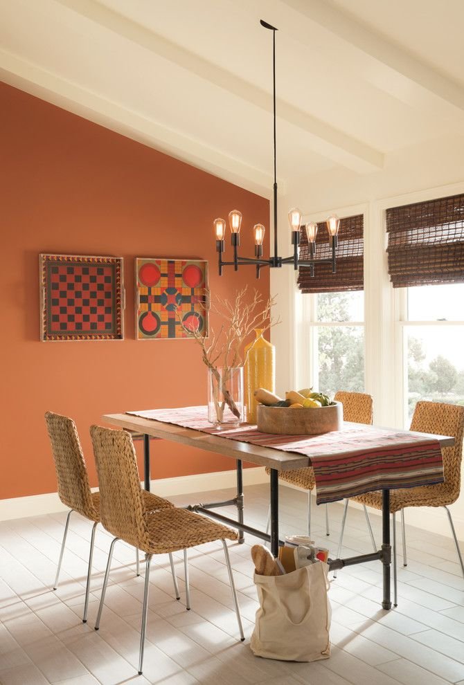 Lowes Fort Collins for a Southwestern Dining Room with a Southwestern and Sherwin Williams by Sherwin Williams