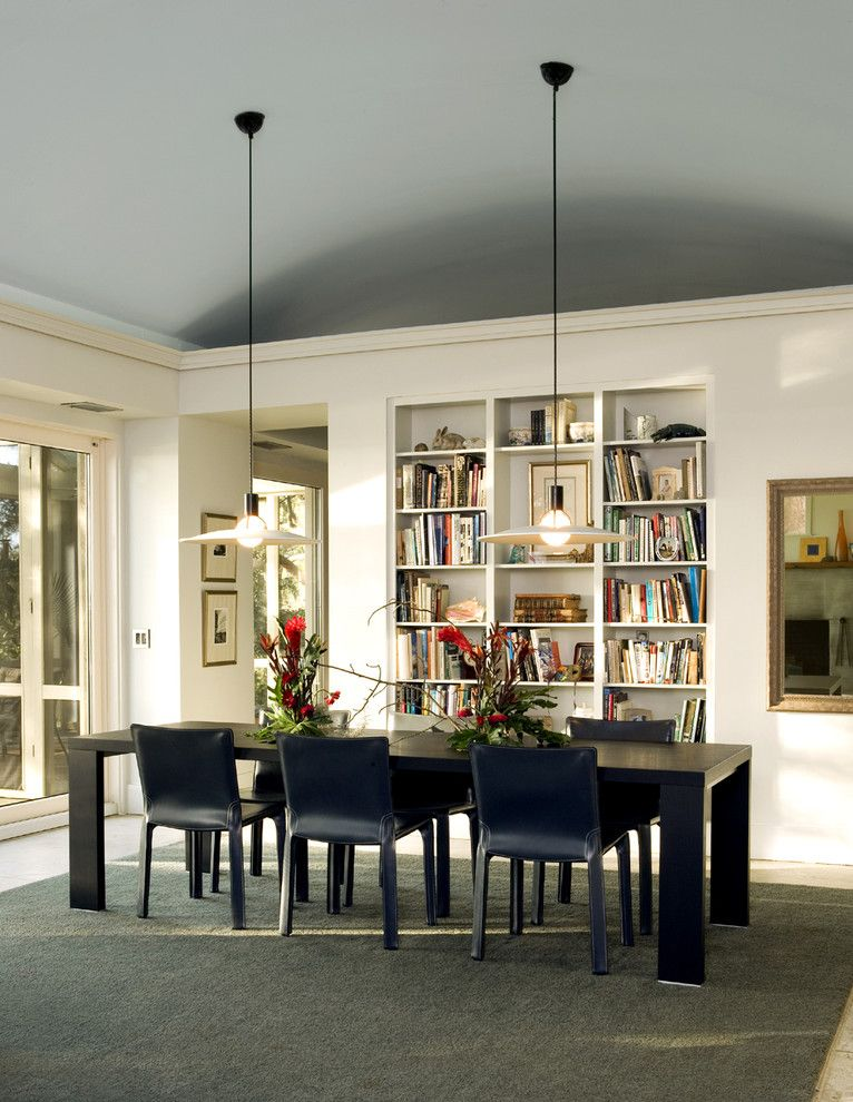 Lowes Frederick Md for a Contemporary Living Room with a Wood Dining Table and Living Room by Frederick + Frederick Architects