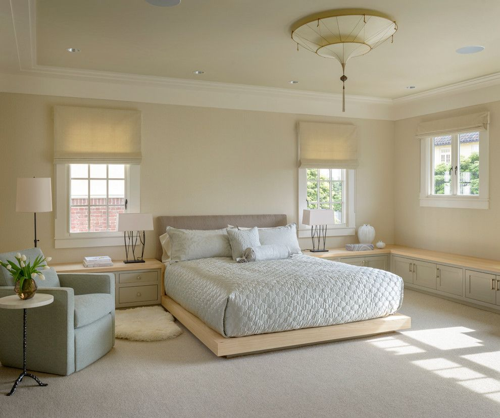 Lowes Gadsden Al for a Transitional Bedroom with a Moroccan Ceiling Light and Global Retreat by Northbrook Design