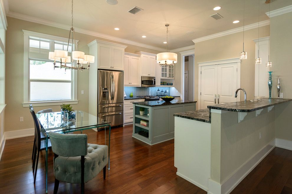 Lowes Gainesville for a Contemporary Kitchen with a Off White Cabinets and the Madrid Model Gainesville Fletcher Park by Emerald Ventures, Inc.