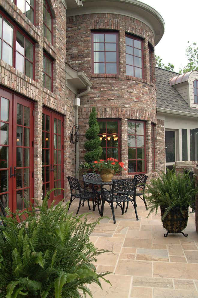 Lowes Hendersonville Tn for a Traditional Patio with a Hendersonville Tn Home Builder and Home Exteriors by Hughes Edwards Builders