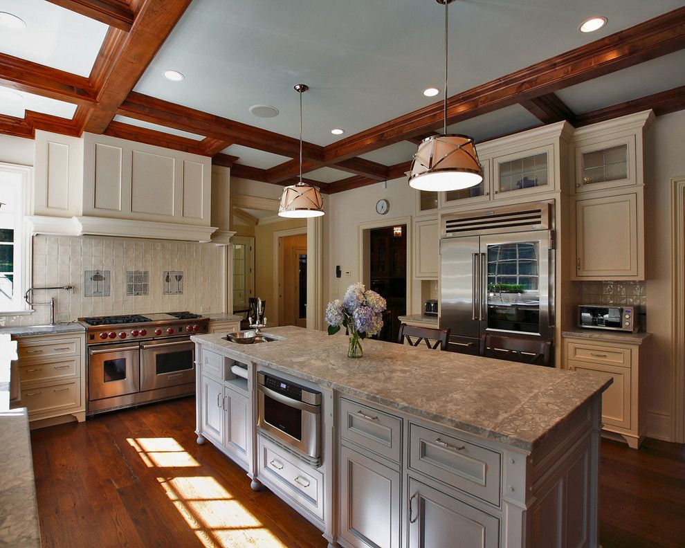 Lowes Holmdel Nj for a Traditional Kitchen with a Pot Filler and Adams Lane Residence by Country Club Homes