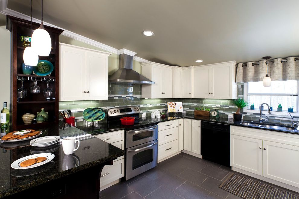 Lowes Holmdel Nj for a Traditional Kitchen with a Traditional and 2013 Lowe's Kitchen Makeover by Jim Schmid Photography