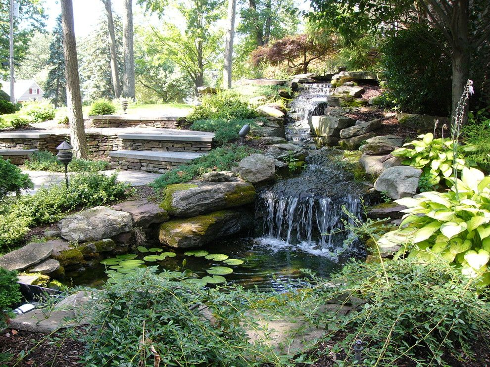 Lowes Howell Nj for a Eclectic Landscape with a Woods and Wyckoff, Nj Front Landscape by Landscape Perceptions of Ditomaso Design Inc.