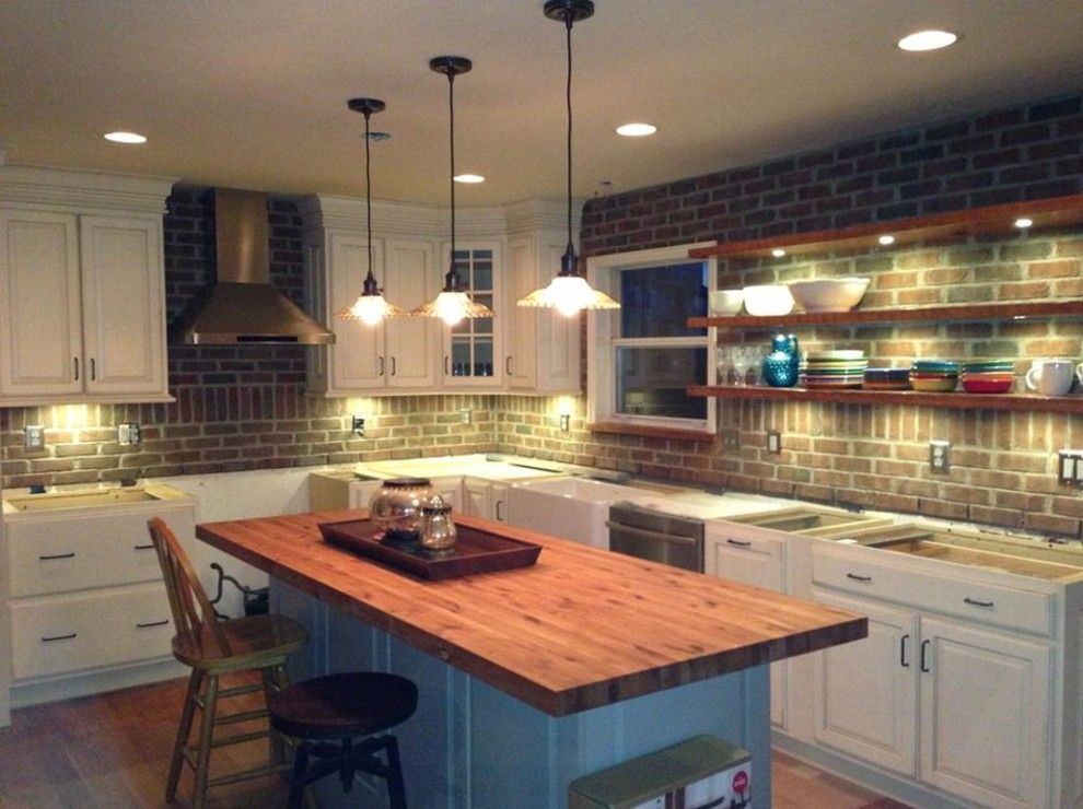 Lowes Kitchen Designer for a Farmhouse Kitchen with a Before and After Photos and Schuler Kitchen Job1 by Lowes Kitchen/bath Design