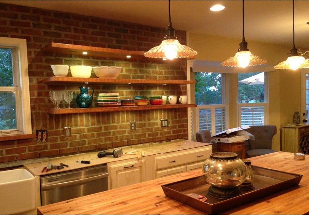 Lowes Kitchen Designer for a Farmhouse Kitchen with a Schuler Cabinetry and Schuler Kitchen Job1 by Lowes Kitchen/bath Design
