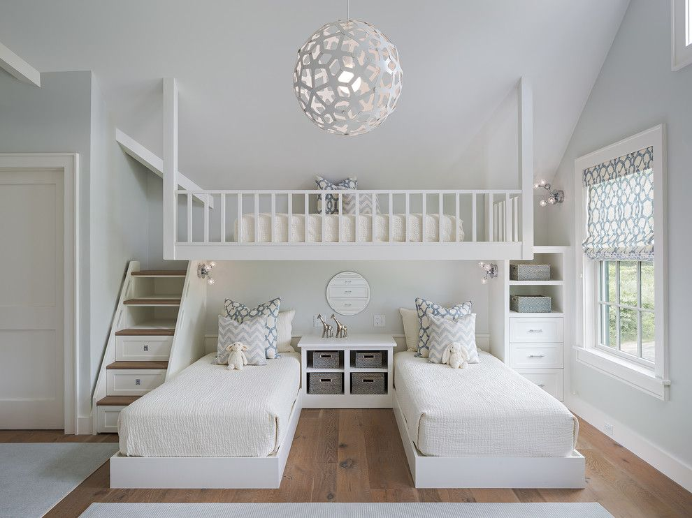 Lowes Lafayette La for a Transitional Kids with a Lofted Bed and Mayhew Lane Interior by Sophie Metz Design
