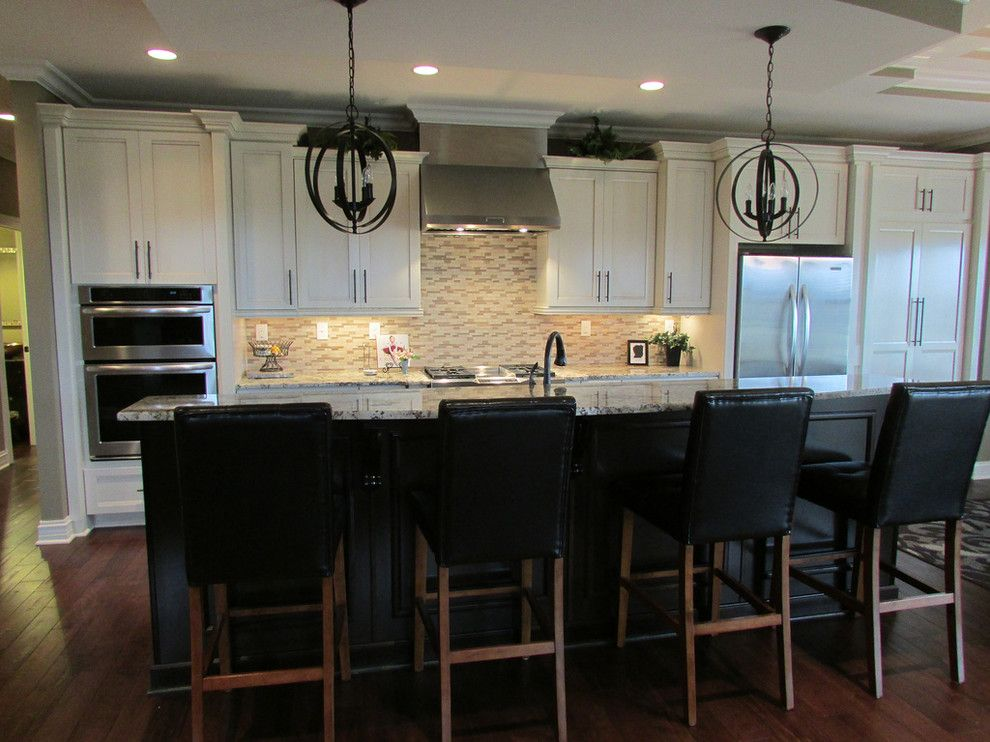 Lowes Morehead Ky for a Transitional Kitchen with a Sonata and Burr Oak by Lowe's of South Lexington, Ky