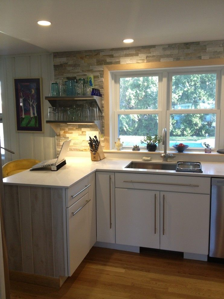 Lowes Nashua Nh for a Contemporary Spaces with a Pantry and 1950s Ranch by Lowes of Epping Nh