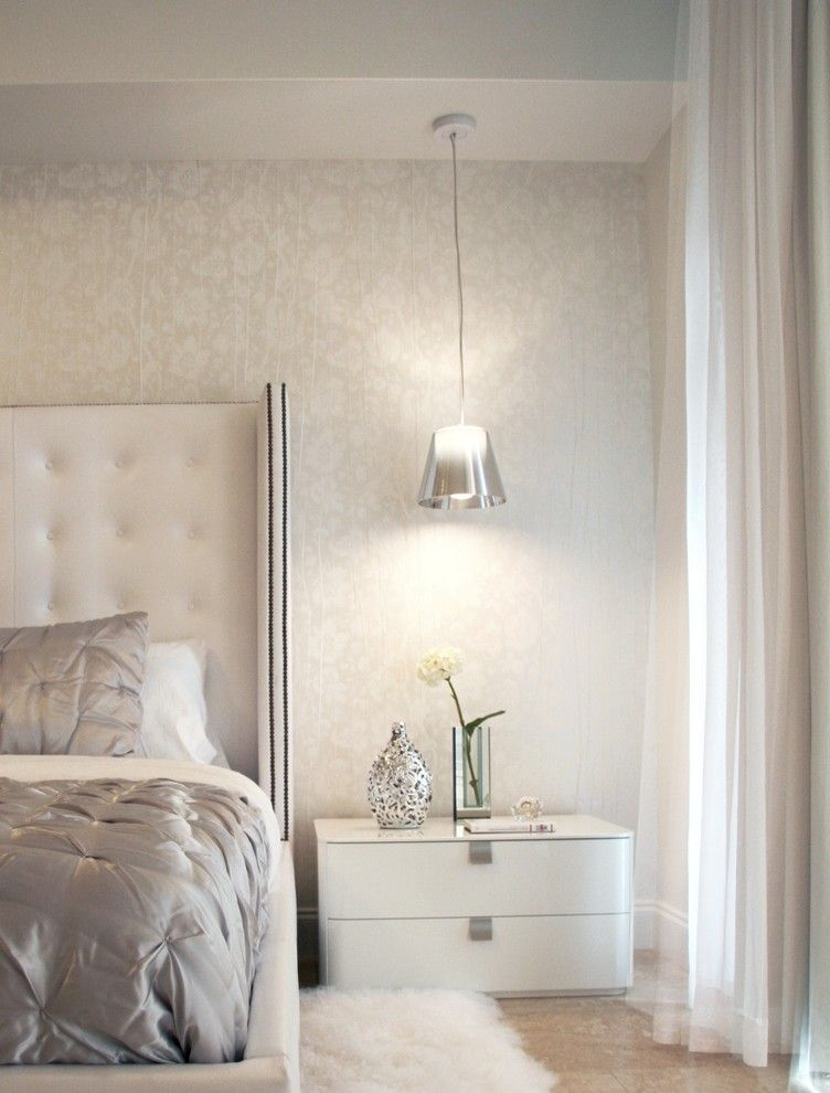 Lowes Ocala Fl for a Contemporary Bedroom with a Silver Light and Miami by Dkor Interiors Inc.  Interior Designers Miami, Fl