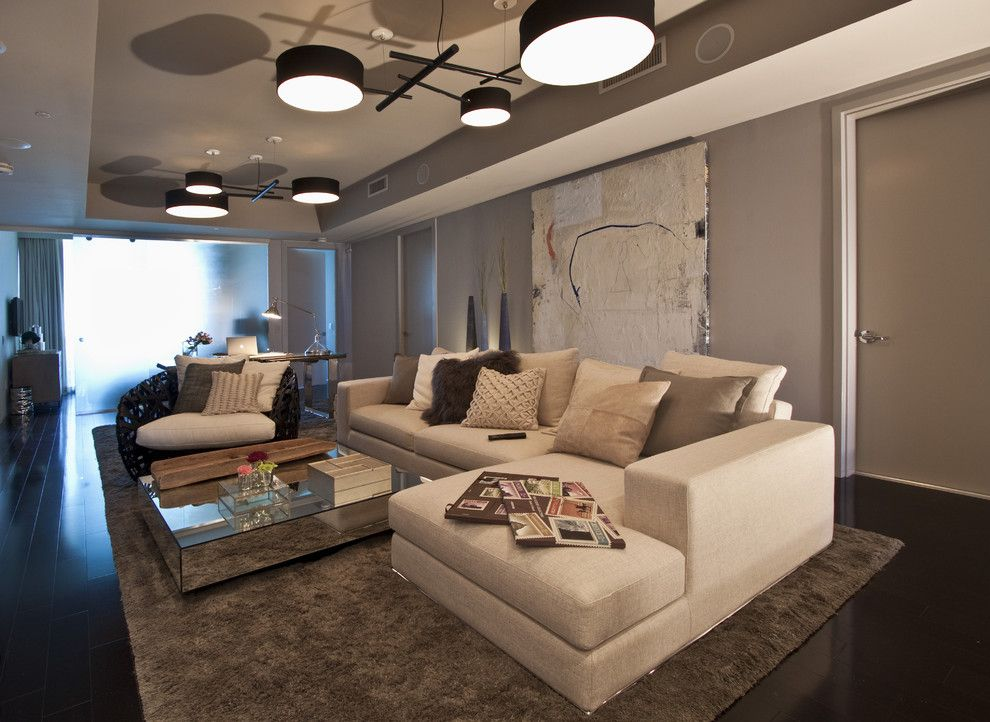 Lowes Ocala Fl for a Modern Living Room with a Modern and Dkor Interiors   Interior Design at the Bath Club in Miami Beach, Fl by Dkor Interiors Inc.  Interior Designers Miami, Fl