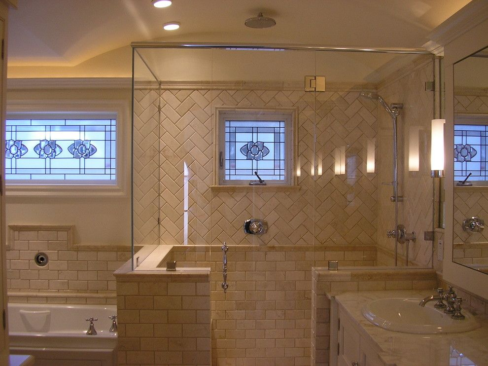 Lowes Oceanside for a Traditional Bathroom with a Traditional and Oceanside Master Bath by Design Moe Kitchen & Bath / Heather Moe Designer