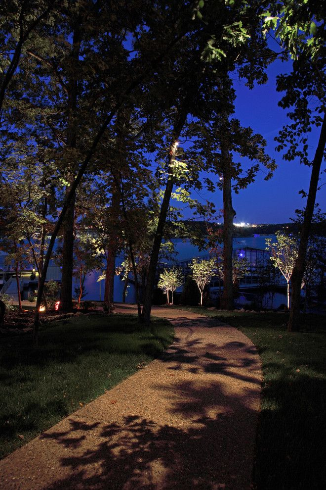 Lowes Omaha for a  Landscape with a Path Lighting and Portfolio by Mckay Landscape Lighting