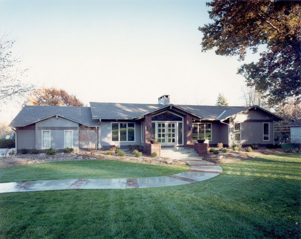 Lowes Omaha for a Traditional Exterior with a Ranch and Project 'Five' by Cramer Kreski Designs
