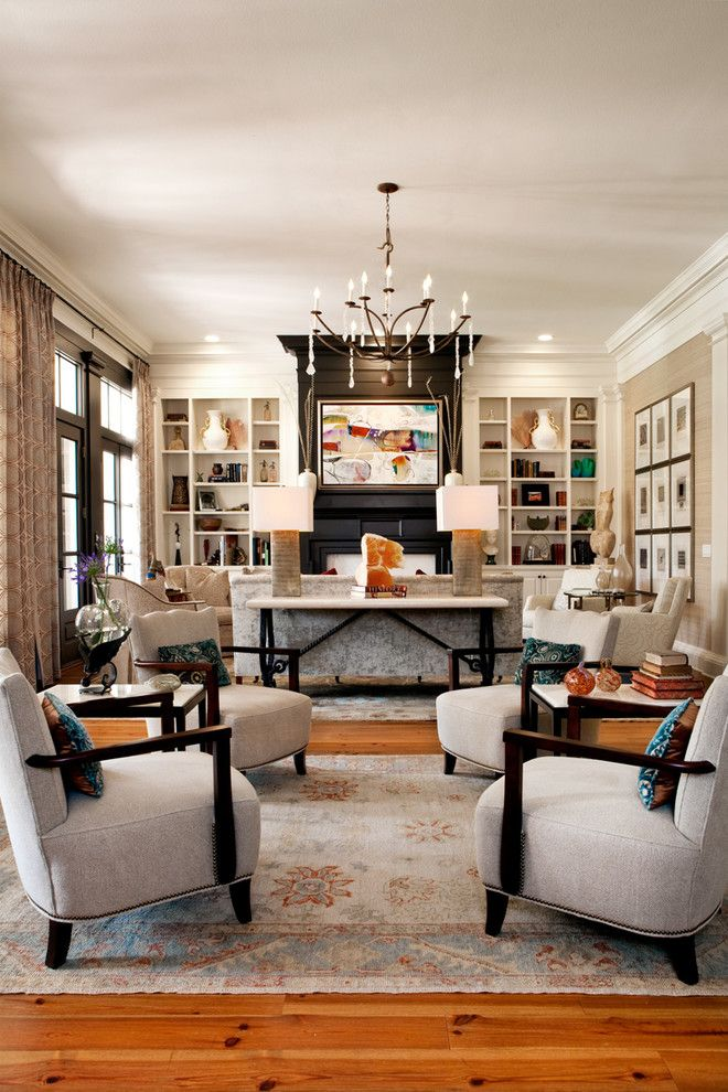 Lowes Orlando for a Transitional Living Room with a Console and Florida Home by Lgb Interiors