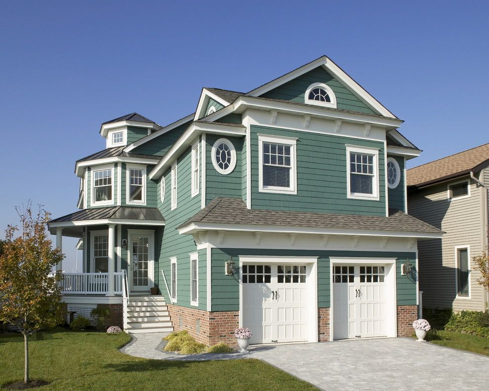 Lowes Paterson Nj for a Traditional Exterior with a Cupola and Qma: Ocean City, Nj New Waterfront Home by Qma Architects & Planners