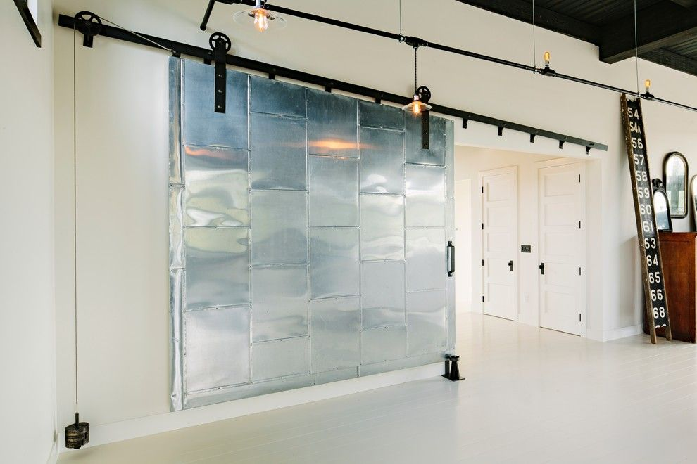 Lowes Portland Maine for a Industrial Hall with a Metal Barn Door and Division Street by Emerick Architects