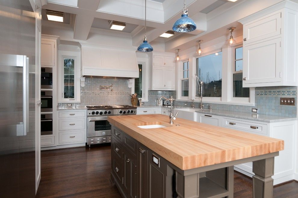 Lowes Portland Maine for a Traditional Kitchen with a Stainless Steel Appliances and Kitchen by Jenny Baines, Jennifer Baines Interiors
