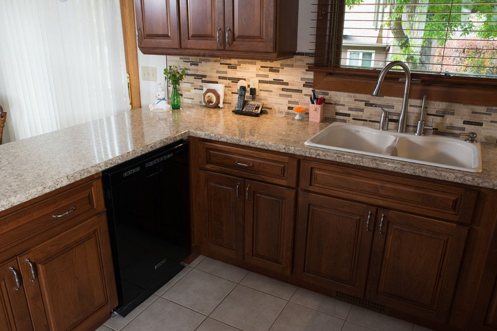 Lowes Rapid City Sd for a Traditional Kitchen with a Kitchen Before and After and Before and After   Kitchen in Rapid City, Sd by Kitchen and Bath Showcase   Rapid City, Sd