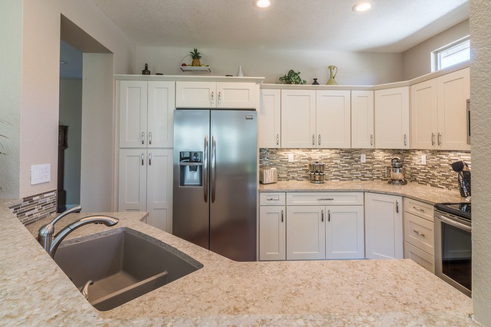 Lowes Roseville for a Transitional Kitchen with a Transitional and Lincoln Hills Facelift by Tiffany McLean | Lowe's of Roseville