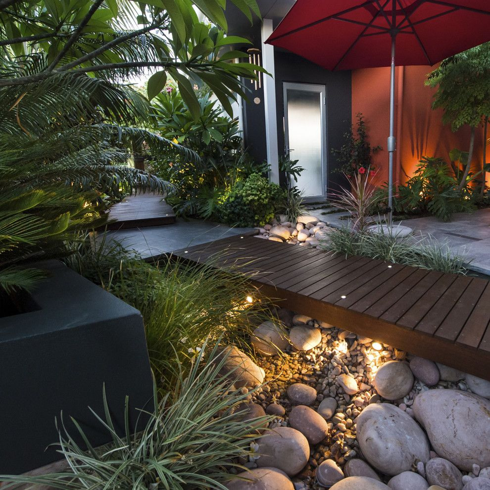 Lowes Round Rock for a Contemporary Landscape with a Landscape and Karrinyup Courtyards by Cultivart Landscape Design