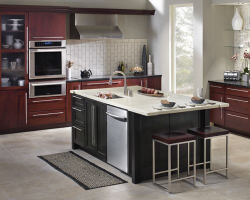 Lowes Sanford Maine for a Contemporary Kitchen with a Gorham and Schuler Cabinetry by Lowe's Portland Maine