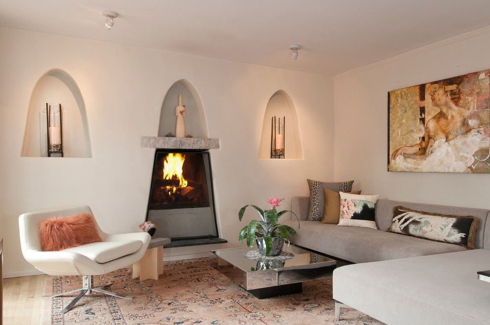 Lowes Santa Fe for a Southwestern Living Room with a Area Rug and Southwestern Contemporary Cottage in Historic Santa Fe by Samuel Design Group