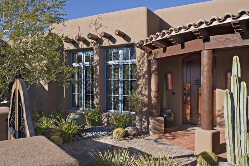 Lowes Santa Fe for a Traditional Exterior with a Traditional and Grey Fox Santa Fe by Giesen Design Studio Llc