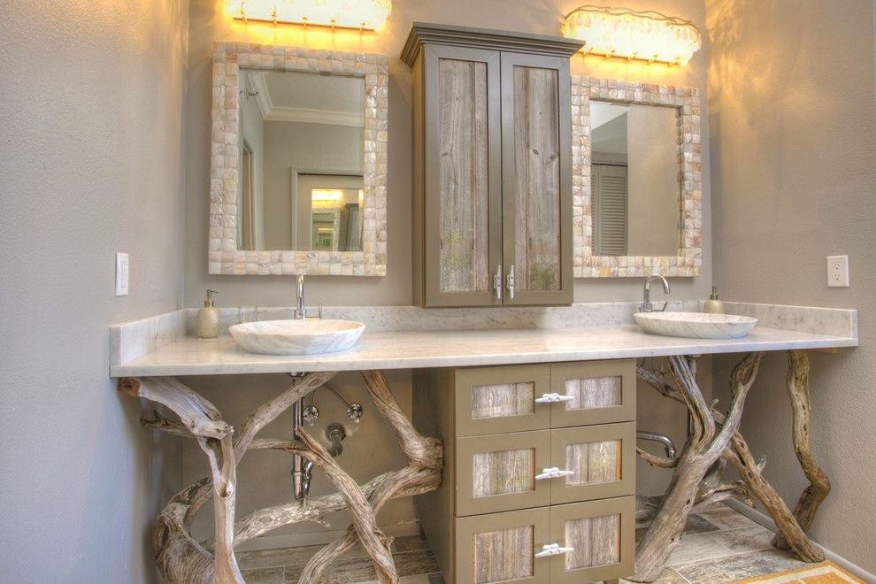 Lowes Sarasota for a Tropical Bathroom with a Sarasota Florida and Beachplace by Chic on the Cheap
