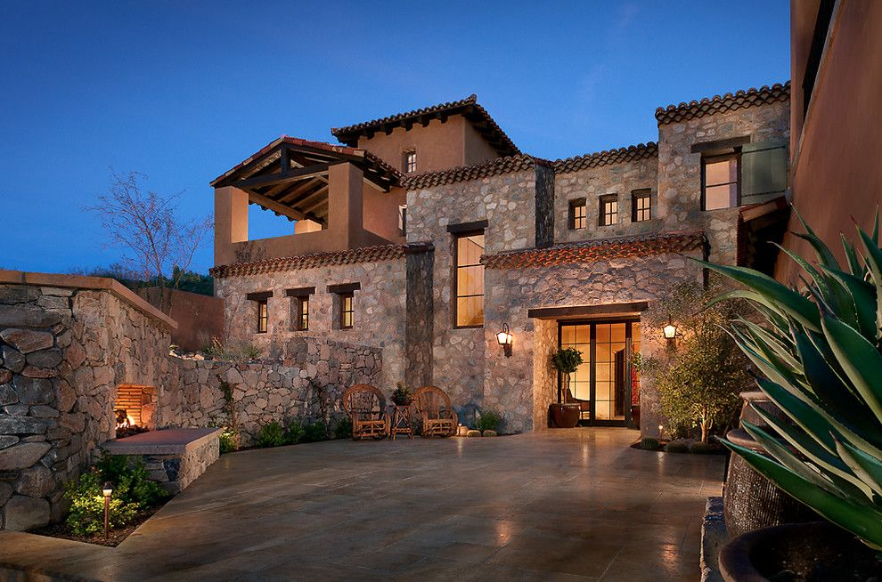 Lowes Scottsdale for a Mediterranean Exterior with a Entry and Front Exterior by Cse & Associates, Inc.