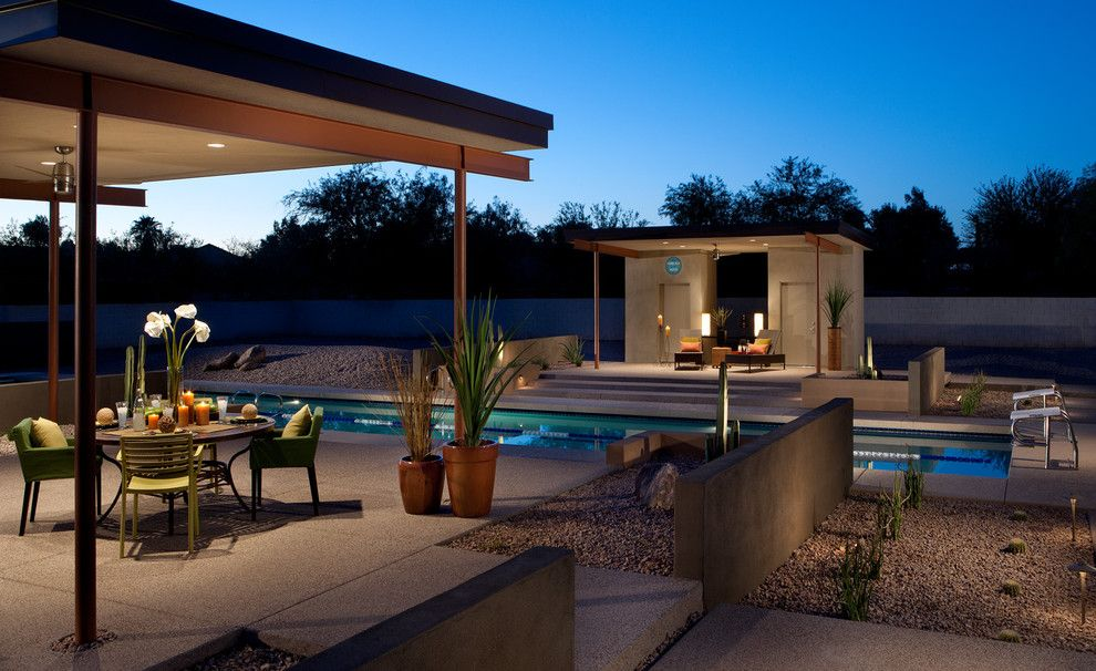 Lowes Scottsdale for a Southwestern Pool with a Modern and Olympic Length Pool and Contemporary Ramadas 1 by Link Architecture, PC