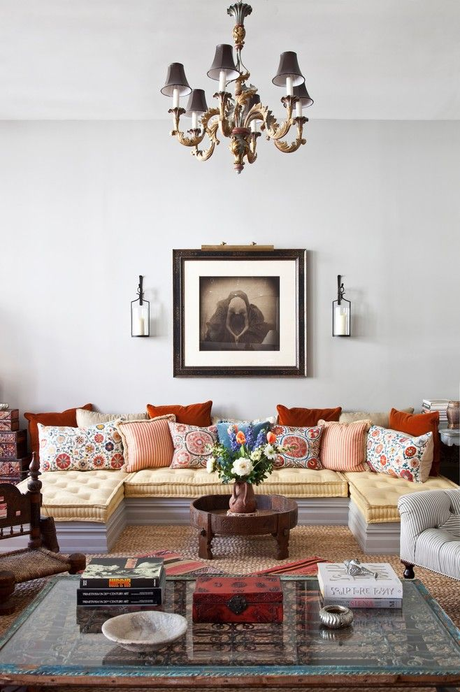 Lowes Sioux City for a Eclectic Living Room with a Eclectic and New York City Loft by Deborah French Designs