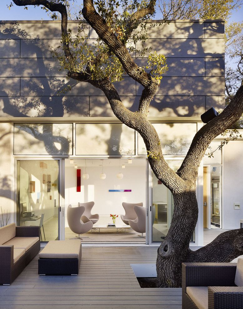 Lowes Staunton Va for a Contemporary Patio with a Lounge Chairs and Kimber Modern Boutique Hotel by Baldridge Architects