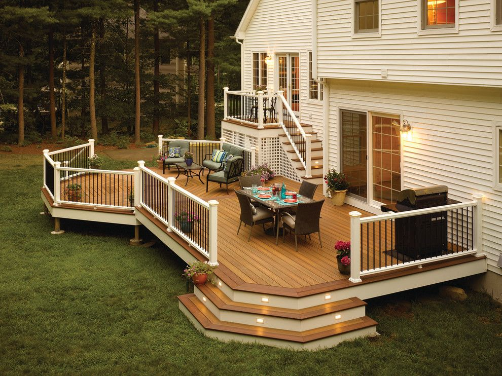 Lowes Stockton Ca for a Contemporary Deck with a Contemporary and Fiberon Decking by Fiberon Decking
