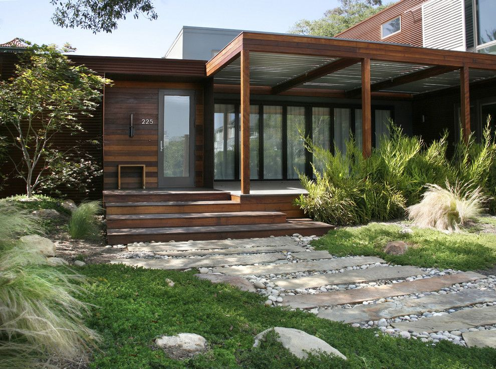 Lowes Stockton Ca for a Contemporary Landscape with a Steps and Grace Design Associates by Margie Grace   Grace Design Associates