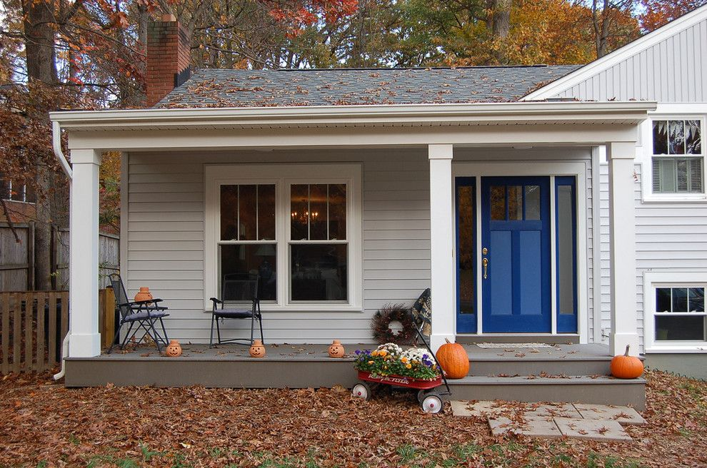 Lowes Tool Rental for a Traditional Porch with a White Trim and Falls Church Renovation by John Linam Jr, Architect, Pllc