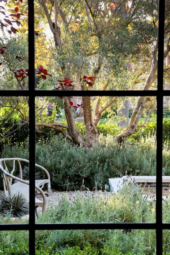 Lowes Torrance for a Traditional Landscape with a Garden Bench and William Hefner Architecture Interiors & Landscape by Studio William Hefner