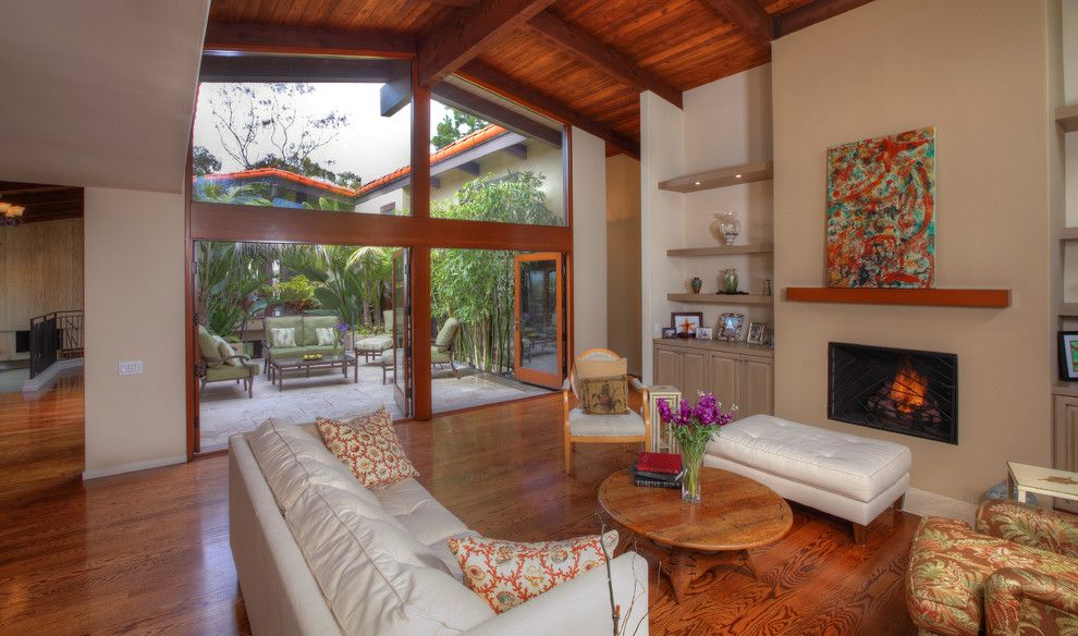 Lowes Torrance for a Tropical Family Room with a Remodel and Contemporary / Island by Pritzkat & Johnson Architects