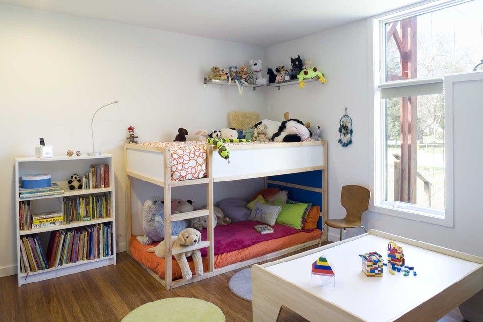 Lowes Twin Falls for a Modern Kids with a White Bookshelf and Asap Bedroom W Copy.jpg by Studio Kiss   Asap House