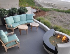 Lowes Virginia Beach for a Modern Patio with a Coastal and Modern Beach Vision by Jeffrey Gordon Smith Landscape Architecture
