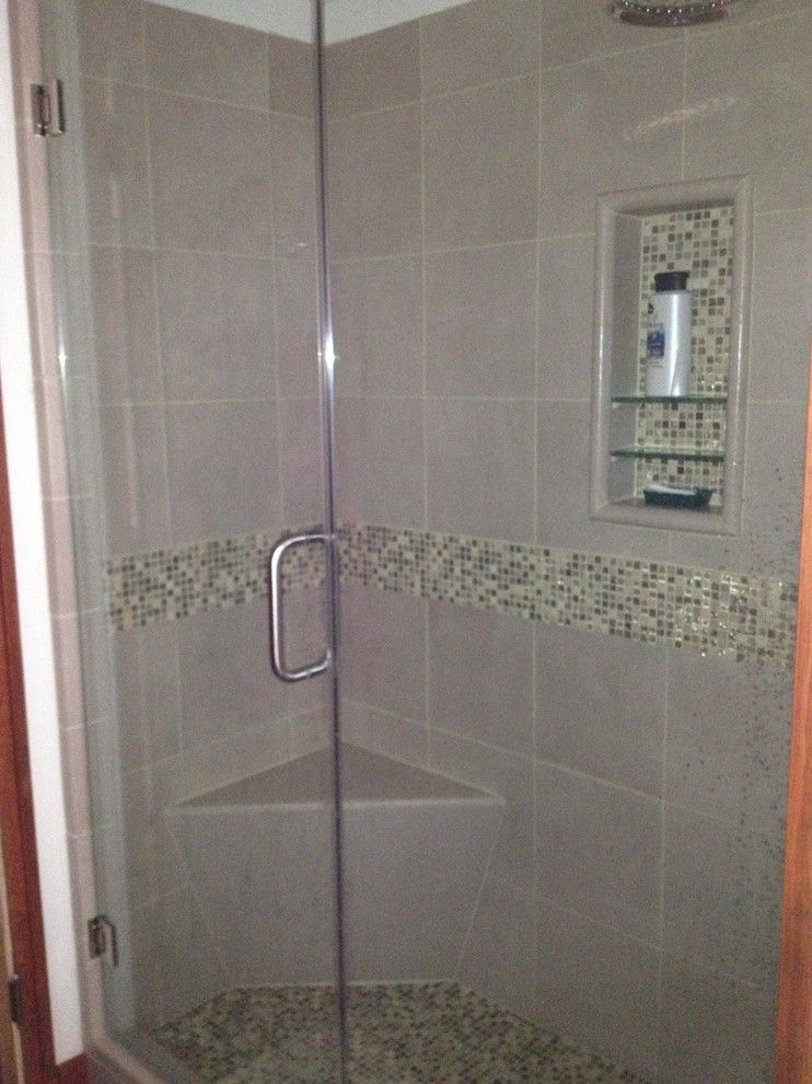Lowes Whitehall Pa for a Contemporary Bathroom with a American Bath Factory Shower Kit and Allentown Wood Bathroom by Lowe's of Whitehall, Pa