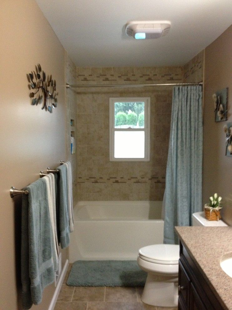 Lowes Whitehall Pa for a Transitional Bathroom with a Bathroom Remodel and Allentown Gracely Project by Lowe's of Whitehall, Pa