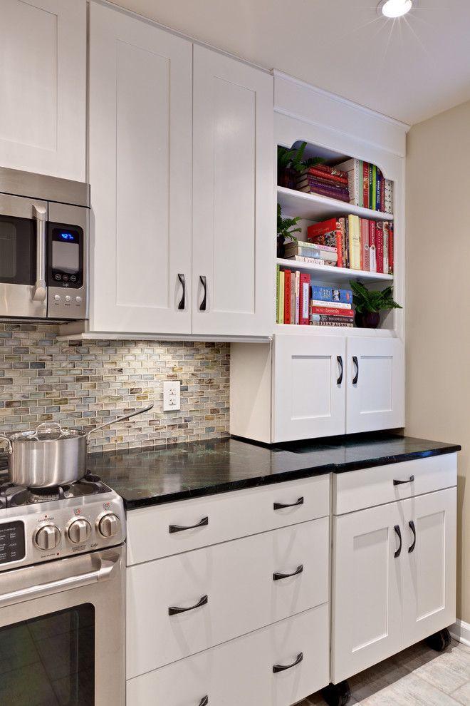 Lunada Bay Tile for a Contemporary Kitchen with a Contemporary and Miller Kitchen by Turan Designs, Inc.
